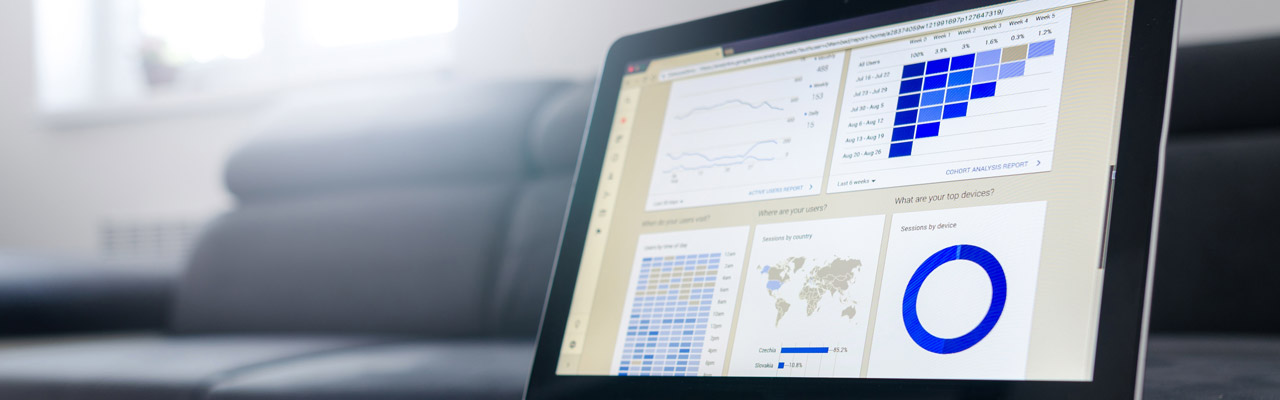 Banner SEO Computer Image