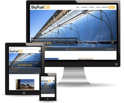 Skyfuel website