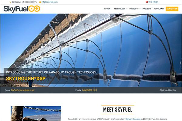 SkyFuel website